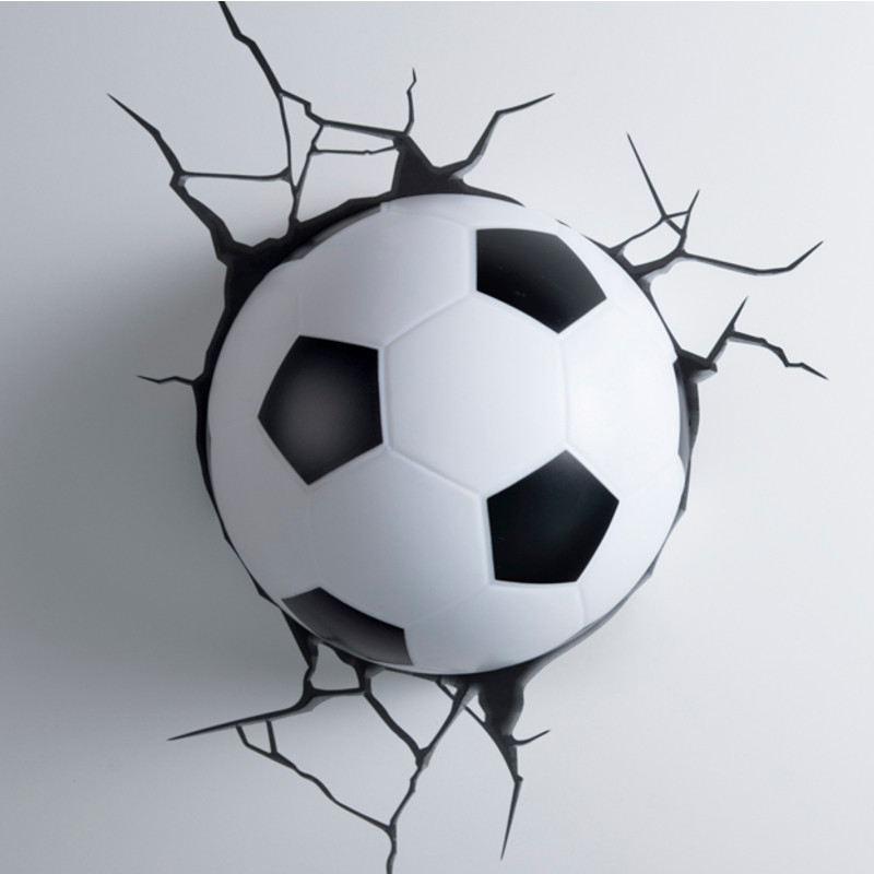 Top 3D-lamp: voetbal | Cadeaus.be YW62