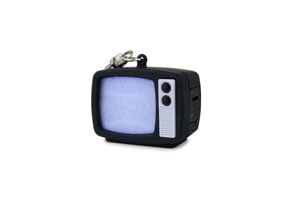 LED-sleutelhanger retro tv