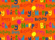 "Cadeaupapier ""Happy Birthday"""