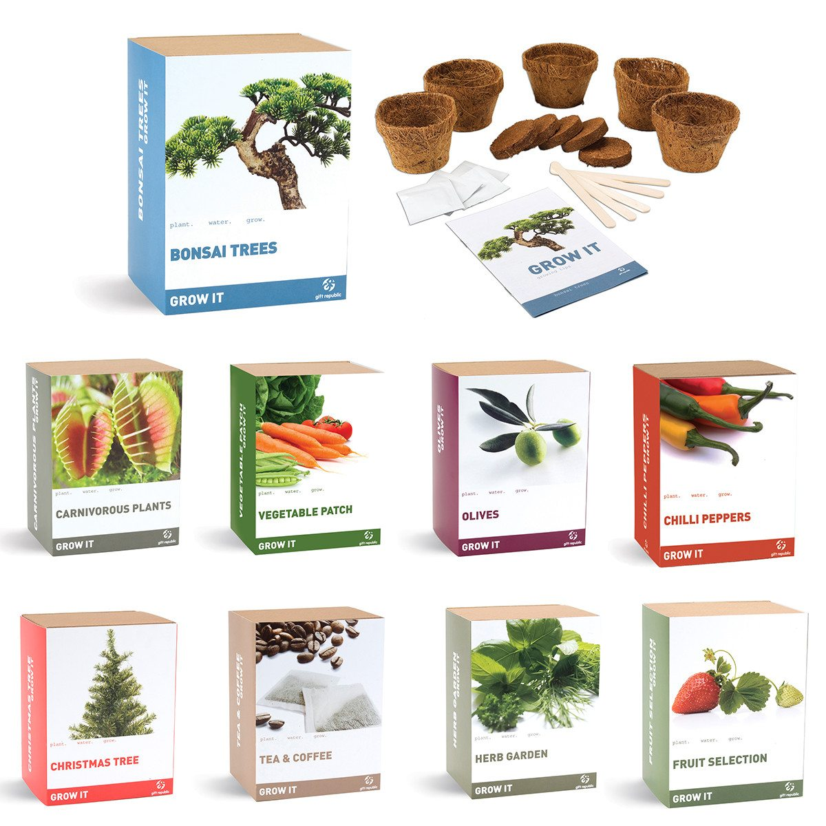 Grow it - zelf planten kweken!