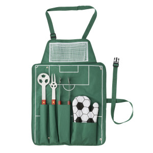"Barbecueset ""voetbal"""