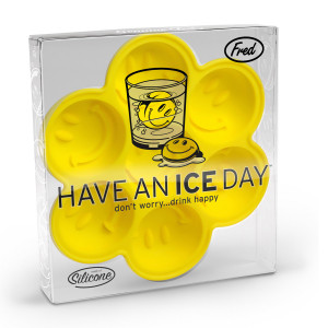 IJsblokjesvorm ''have an ice day''