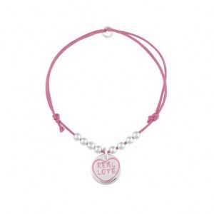 Real Love armbanden – Roze