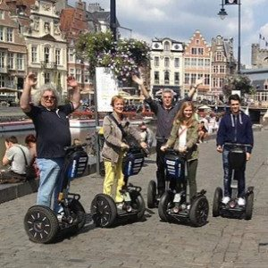 Segway city tour - Gent